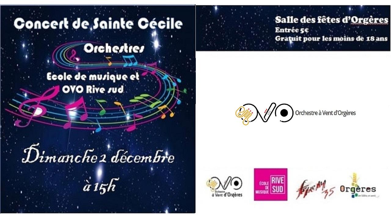 Consignes pour le concert de la Sainte Cécile 2018