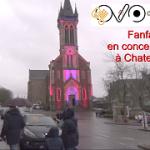 L'église de Chateaugiron illuminée pour Noël