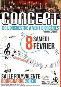 Concert Bourgbarré 8/02/2020